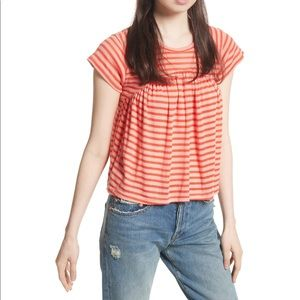 Free people Jiji striped tee